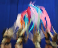 Cheerleaders perform during Final Four Stock Photo