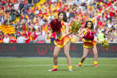 Cheerleaders Royalty Free Stock Photo