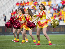 Cheerleaders Royalty Free Stock Photos