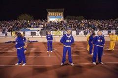 Cheerleaders van de middelbare school Royalty-vrije Stock Foto's