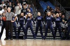 Cheerleaders van de Staat van Penn Stock Foto's