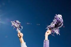Cheerleading zdjęcie stock