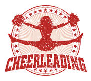 Cheerleading Design - Vintage Stock Images