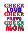 Cheerleading mom Royalty Free Stock Photography