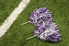 Cheerleading pom-poms Royalty Free Stock Images