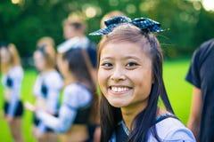 Cheerleading Team Lizenzfreies Stockbild