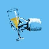 cheers illustration stock