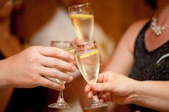 Cheers cheers! Royalty Free Stock Photos