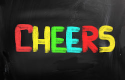 Cheers Concept Royalty Free Stock Photography