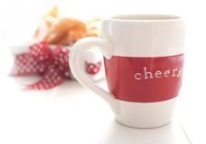 Cheers cup Stock Images