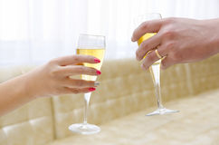 Cheers Stock Photography