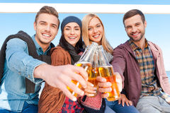 Cheers! Royalty Free Stock Photography