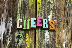 Free Cheers Hello Bar Pub Slogan Greeting Party Drink Royalty Free Stock Photo - 160258865
