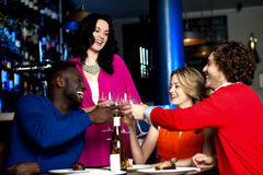 Cheers! Let's celebrate together Royalty Free Stock Photography