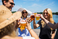 Cheers, my friends Stock Photos