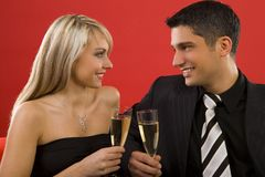 Cheers my love Royalty Free Stock Photo