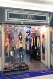 Cheers shop in hong kong. Cheers shop, located in Sceneway Plaza, Lam Tin, Hong Kong. cheers is a clothes retailer in Hong Kong Royalty Free Stock Photo