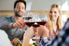 Cheers to friends Stock Photo