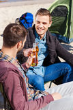 Cheers to friendship! Stock Images