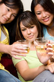 Cheers to good friends - People Series Stock Image