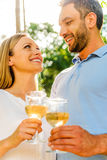 Cheers to love! Royalty Free Stock Photos