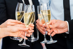 Cheers to success. Stock Images