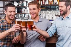 Cheers to us! Stock Images