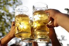 Cheers together Stock Image