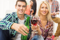 Cheers Royalty Free Stock Photography