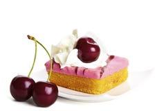 cheery cake royaltyfri fotografi