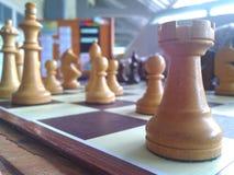 Chees di legno bianco Fotografia Stock
