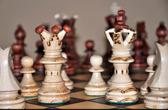 Chees King And Queen Royalty Free Stock Photography
