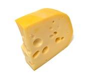 Chees saborosos isolados Foto de Stock Royalty Free