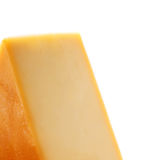 Chees  on white Royalty Free Stock Image