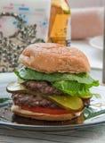 cheesburger Zdjęcia Royalty Free