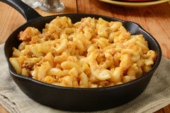 Cheesburger macaroni Royalty Free Stock Image
