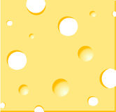 Cheese. Illustration background: yellow cheese cheddar Royalty Free Stock Photography