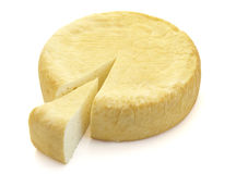 Cheese 2. Close up of cheese on white background with clipping path, shadow not included Stock Image