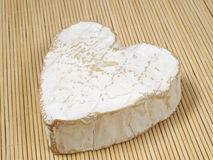 Cheese. Normandy cheese (Heart of Bray Royalty Free Stock Photo