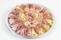 Cheese And Ham Royalty Free Stock Photography