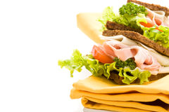 Free Cheese And Ham Sandwich 2 Royalty Free Stock Image - 18868966
