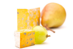 Cheese And Pear Royalty Free Stock Photo