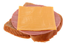 Cheese And Sausage Royalty Free Stock Images