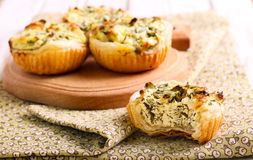 Free Cheese And Spinach Pies Stock Photo - 52229180