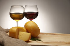 Free Cheese And Wine Royalty Free Stock Image - 25228426