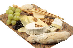 Cheese appetizer assortment Royalty Free Stock Photos