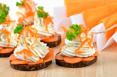 Cheese appetizers Royalty Free Stock Photo