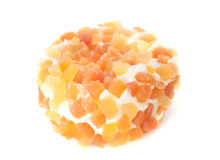 Cheese with apricot Royalty Free Stock Images