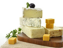 Cheese Assorted Royalty Free Stock Photography
