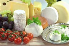 Cheese Assortment Royalty Free Stock Image